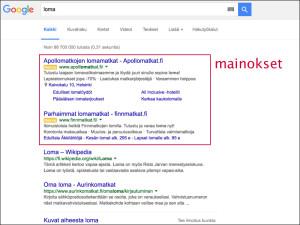 Googlen uusi tapa näyttää mainokset